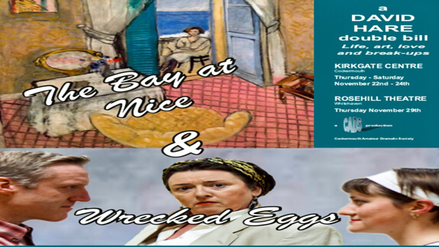 Bay of Nice & Wrecked Eggs- David Hare